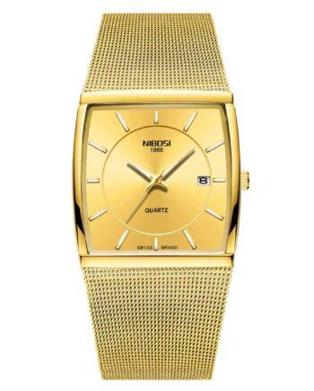 Đồng hồ NIBOSI 2338 màu vàng